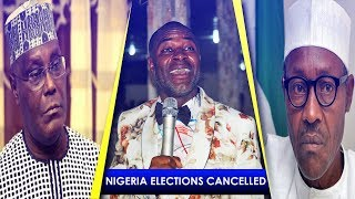 INEC and RITABBI, Nigeria Elections Cancelled
