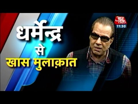 Special interview with Bollywood's 'He-man' Dharmendra
