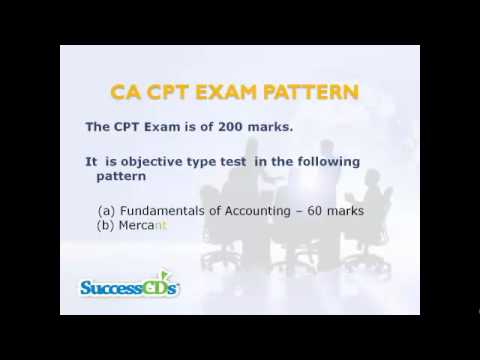 CA CPT Entrance Exam Overview