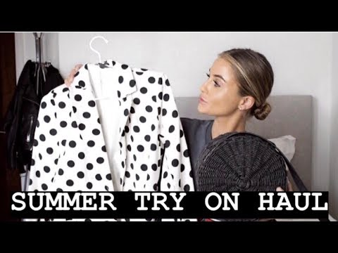 SUMMER TRY-ON HAUL | TOPSHOP, ZARA & MORE | NADIA ANYA