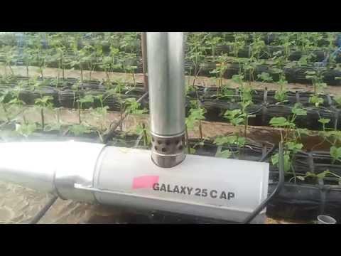 видео: Отопление теплицы зимой дизельной пушкой. heating greenhouses in winter diesel gun.