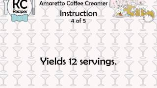 Amaretto Coffee Creamer - Kitchen Cat