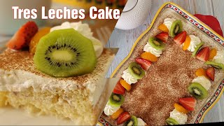 Tres Leches Cake | Three Milk Cake | Easy Recipe |