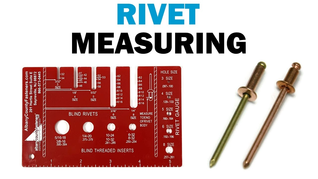 How to Use a Rivet Gauge and Measure a Rivet | Fasteners 101
