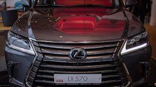 Тест драйв lexus LX 450 diezel test drive lexus LX 450 diezel new 2015