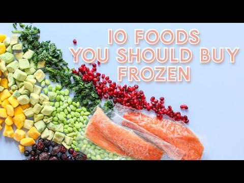 10 Foods You SHOULD Buy Frozen instead of Fresh