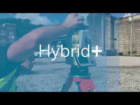 Carlson Hybrid+ | Survey with GNSS and a Robotic Total Station AT THE SAME TIME
