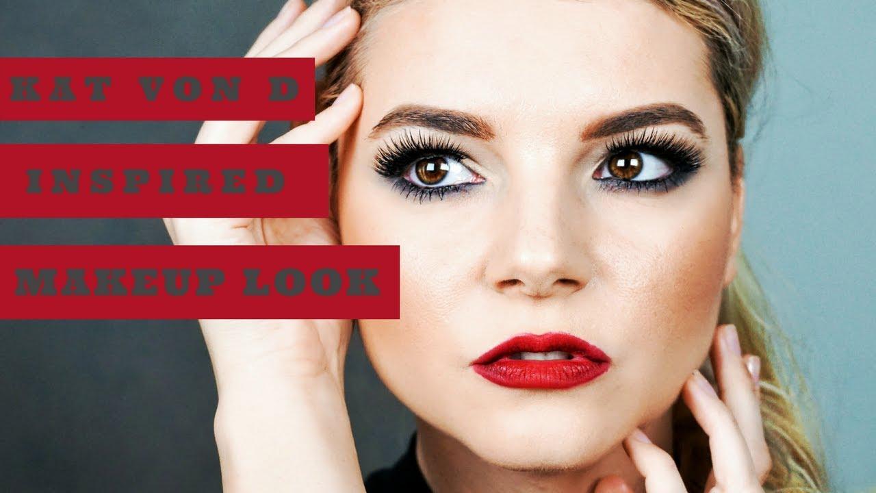 Machiaj Inspirat De Kat Von D Katvond Inspired Makeup Tutorial
