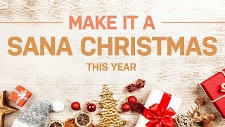 Christmas gift ideas from Sana