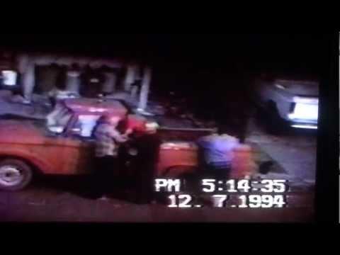 Richard & Leroy Eldridge pouring LEADED GAS in Leroy