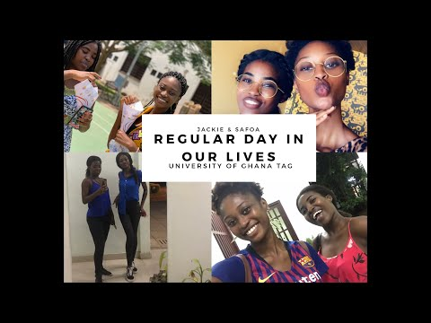 Regular day in our lives - University of Ghana Campus Tag