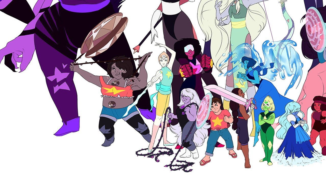 Crystal gems fan art images galleries for Crystal fall