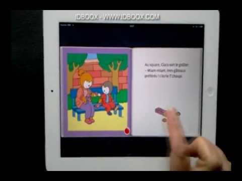 tchoupi aime sa nounou ipad ebook enfant idboox youtube. Black Bedroom Furniture Sets. Home Design Ideas