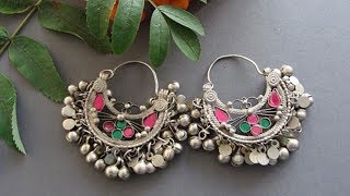 Silver Fashion Earrings Designs 2019 | Indian Jewellery Design 2019