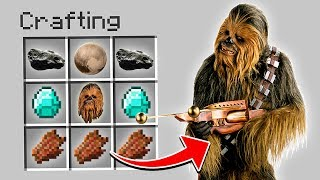 HOW TO SUMMON CHEWBACCA IN MINECRAFT! (Star Wars)