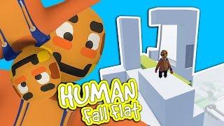 Ich kletter auf einen WOLKENKRATZER | Human Fall Flat
