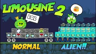 LIMOUSINE! #2 - Bad Piggies Inventions