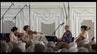 Hegel Quartett plays Schubert, III  Scherzo, trio