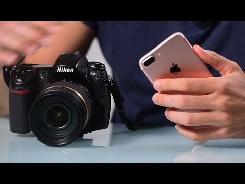 iPhone 7 Plus VS DSLR Camera