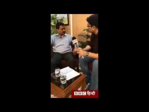 Kejriwal Gets Tight Slap by BBC Reporter, That Kejriwal is habitual Accuser.