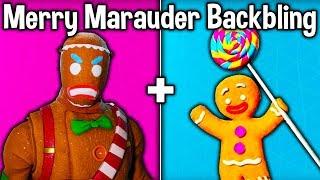 *NEW* MERRY MARAUDER BACKBLING Coming to Fortnite! (Unlock Free Gingerbread Backbling + MORE)