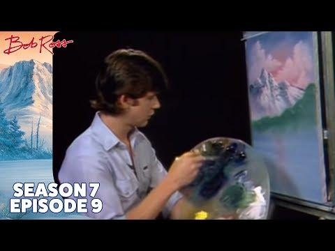 Bob Ross - Lake by Mountain (Season 7 Episode 9)