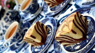 How To Make Ogura Zebra Cake