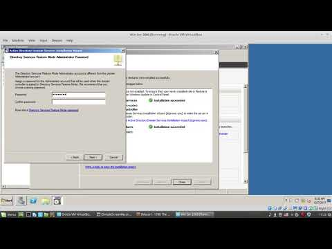 3. How to create Active Directory Domain Windows Server 2008
