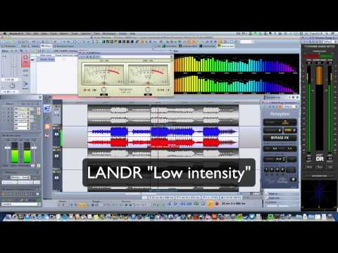 LANDR: Automated online mastering - but is it any good ?