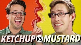 Ketchup vs. Mustard • Debatable