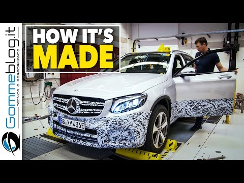 Mercedes GLC F-CELL Production Hydrogen Engine - HOW IT'S MADE Future BATTERY