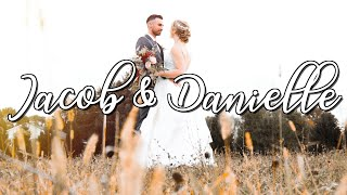 Congratulations Jacob & Danielle !