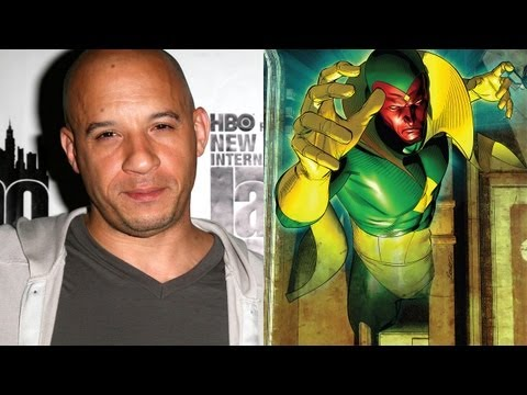 Vin Diesel To Join Marvel Universe As Vision?