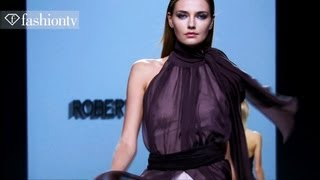 Mad Men Motifs at Roberto Torretta Fall 2012 | Mercedes-Benz Fashion Week Madrid | FashionTV
