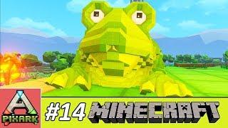 PIXARK - Minecraft Ark #14 - Taming Beelzebufo - Thuần Hóa Gao Ếch Beelzebufo