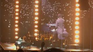 """Lionel Ritchie performing """"Say You Say Me"""" live @ Oracle Arena in Oakland CA July 21, 2017"""