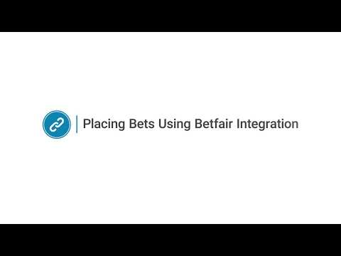 Placing bets using Oddsmonkey + Betfair Integration