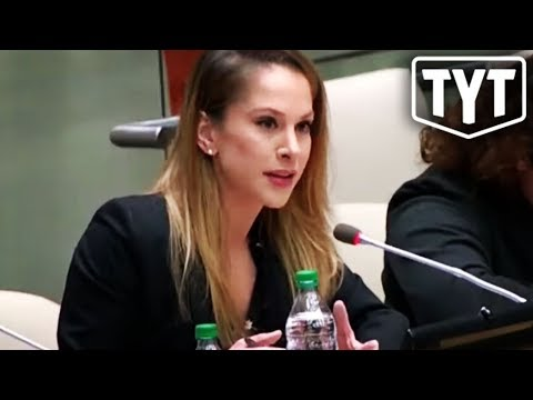 Ana Kasparian Speaking Truth To Power At The United Nations ...