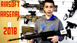 Airsoft Gun Collection - 2018