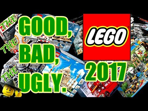 Disappointments & Top Ten LEGO Sets of 2017