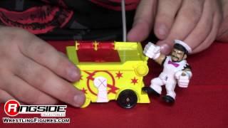 WWE FIGURE INSIDER: CM Punk w/ Blastin Smash Ice Cream Cart - Mattel WWE Slam City Playset