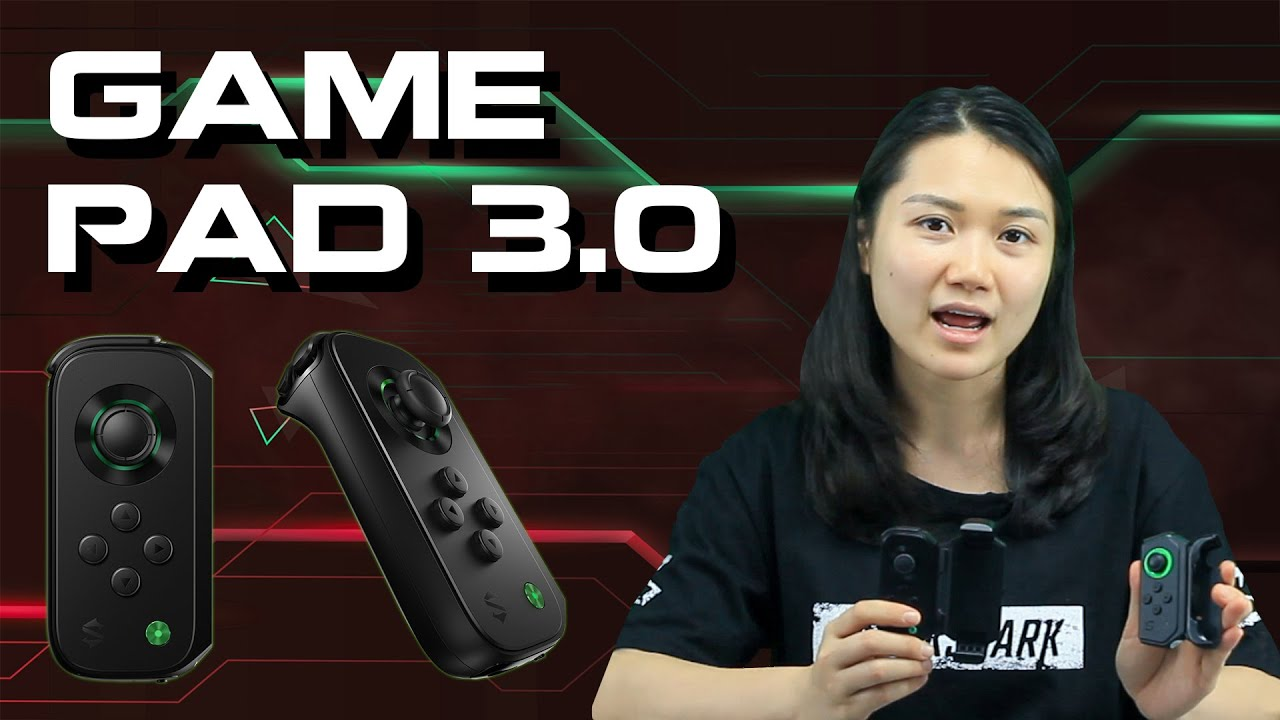 REVIEW BLACK SHARK GAME PAD 3.0 – SIÊU NHẠY