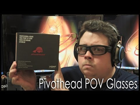 Unbox and Review of my Pivotheads POV Camera Glasses, nice G