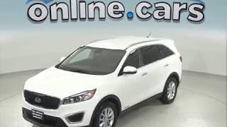 G97556TA Used 2018 Kia Sorento LX AWD SUV White Test Drive, Review, For Sale