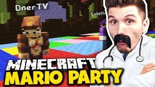GESUNDHEITSTIPPS VON DR.PALUTEN & DNER WIRD RASIERT! ✪ Minecraft Mario Party mit Dner