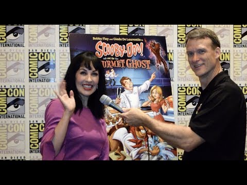 Grey Griffin Interview for Scooby Doo and the Gourmet Ghost Premiere at SDCC streaming vf