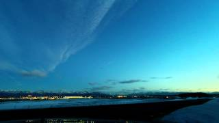 Ted Stevens Anchorage Airport GoPro Time-lapse Test #1