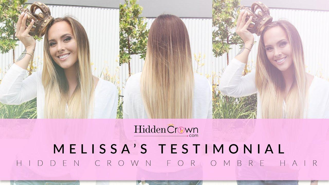 Melissas Testimonial Hidden Crown Youtube