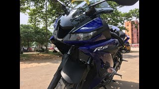 YAMAHA R15 V3 FULL REVIEW in details watch the complete video for all details