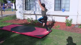 My Gymnastic Journey - Front Aerials and Kip attempts - Day 2